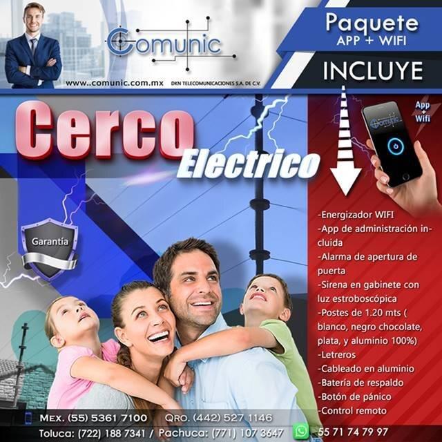 Cercas electricas - Cercas Eletrificadas CDMX - Pahcuca - Toluca- Naucalpan-Tlalnepantla-Atizapan- Huixquiluca