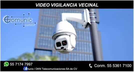 Video vigilancia vecinal CDMX- Toluca- Pachuca- Atizapan, Huixquilucas, -Naucalpan- Tlalnepantla